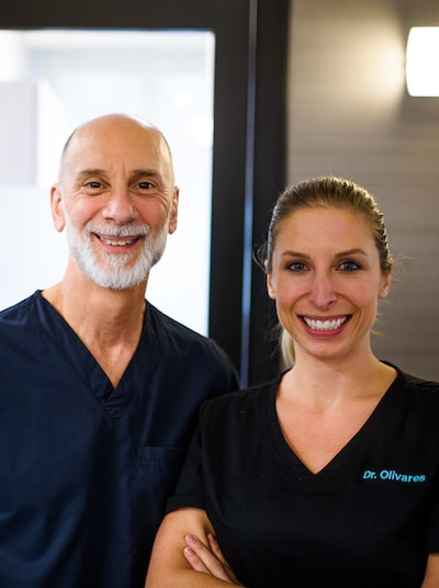 Our bone grafting specialists, Dr. Pasquinelli and Dr. Olivares