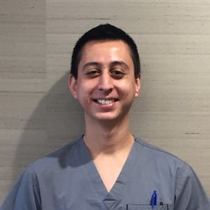 Jose is smiling as a San Francisco dental assistant and an integral member of our team