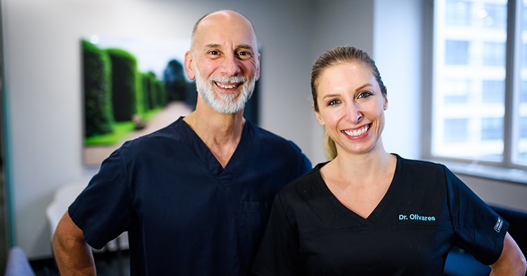 Periodontal disease experts Dr. Pasquinelli & Dr. Olivares